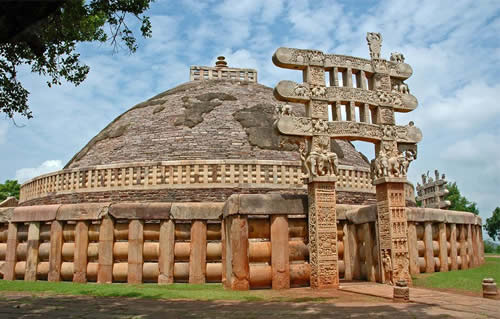 Sanchi Stupa, Buddhist Monuments